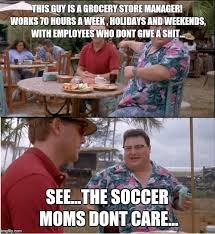 Grocery Meme - see nobody cares meme imgflip