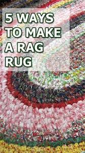 How To Rag Rug How To Make Crocheted Rag Rugs Folk Crochet And Patterns