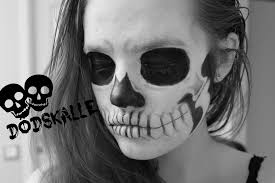 skull makeup halloween 2015 remake of alex faction youtube