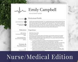 Medical Doctor Resume Example Resume by Nurse Resume Template For Word U0026 Pages Medical Resume Nurse