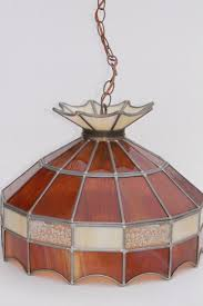Stained Glass Light Fixtures Retro Lighting Pendant Lanterns And Swag Lamps