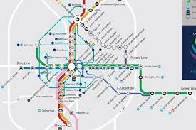 Atlanta Airport Parking Map by Latest Greatest Marta Dream Map Could Actually Happen Curbed