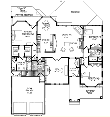 colonial style house plan 3 beds 3 00 baths 3241 sq ft plan 440 3
