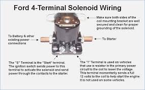 ford starter solenoid wiring diagram car within agnitum fasett info