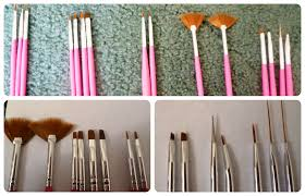 nail art brushes and how to use them choice image nail art designs