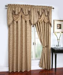 Amazon Window Curtains by Amazon Com Hlc Me Portofino Sage Jacquard Curtain Valances 52