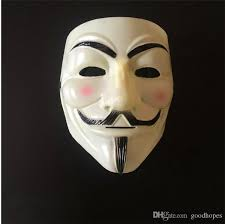anonymous mask v for vendetta mask costume fawkes anonymous