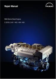 man marine diesel engine d2876 le 404 service repair manual