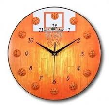 themed wall clock sports wall clocks foter