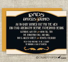 man diaper shower invitations dad diaper and drinks party