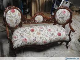 canapé style indien canape colonial ancien entierement restauré a vendre 2ememain be