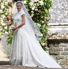 custom made wedding dress pippa middleton stuns in custom made wedding gown