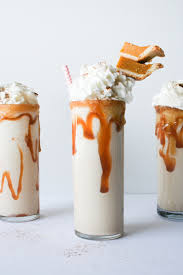 milkshake photography pumpkin pie milkshakes salty canary