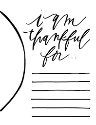 thankful placemats printable placemats by madame bonbon