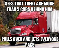 Funny Truck Memes - good guy truck driver memes quickmeme