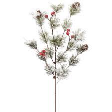 artificial plants and flowers pine sprays christmastopia com