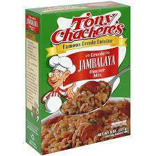 creole cuisine tony chachere s creole cuisine creole jambalaya dinner mix 8