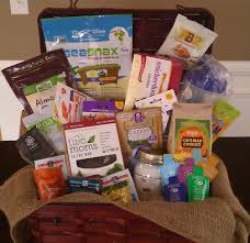 Healthy Food Gift Baskets The Healthy Nut Gift Basket Healthy Lunch Ideas Product Giveaways