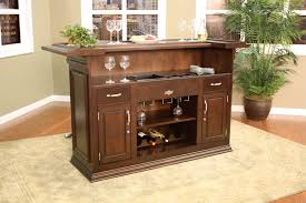 bar awesome rubber wood veneer bar cabinet design ideas wine