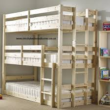 Bunk Bed For 3 Conserving Space And Staying Trendy With Bunk Beds