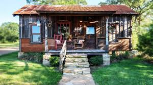 the cowboy cabin in texas charming small house design youtube