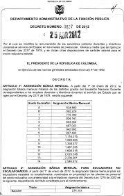 escala salarial vidrio 2016 tabla salarial docentes 1278 y 2277 2012 institucion educativa