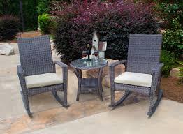 Blue Wicker Rocking Chair Lane Patio Rocking Chair U0026 Reviews Joss U0026 Main