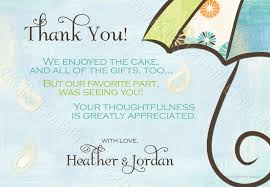 wording for baby shower thank you notes www awalkinhell com