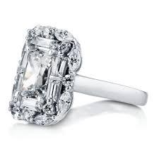 rings moissanite rings cushion cut engagement rings cheap rings
