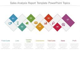 sales analysis report template powerpoint topics powerpoint