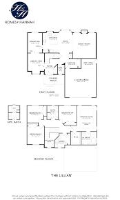 Colonial Floor Plan Models Homes By Hannah Homes By Hannah