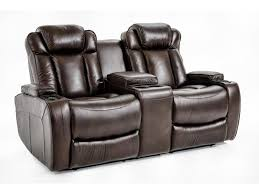 ausen as4062 power reclining sofa with power headrests and drop