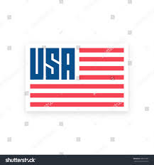 Usa Flag Vector Usa Flag Vector Illustration American Flag Stock Vector 688537681