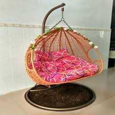 Swing Indoor Chair Usd 129 47 Wicker Basket Indoor Swing Chairs Hanging Porch Swing
