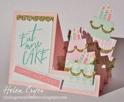 martini birthday card sizzix eat more cake step up birthday card the dining room