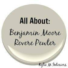 benjamin moore u0027revere pewter u0027 and coordinating paint colors
