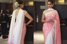 Drape A Sari 15 Times Sonam Kapoor Didn U0027t Drape A Sari The Boring Way