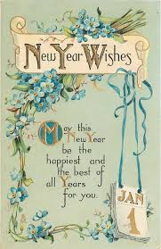 happy new year card new years wishes may this new year be the happiest and best of all