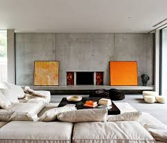the home interior best 25 concrete interiors ideas on contemporary seat