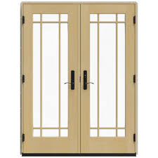 Jeld Wen 4500 jeld wen 59 25 in x 79 5 in w 4500 french vanilla right hand