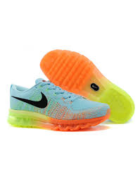 nike outlet black friday deals nike women u0027s air max flyknit runing shoes light blue and orange