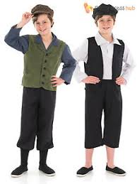 boys kids victorian gent fancy dress peasant urchin costume oliver