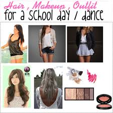 hair and makeup school hair makeup and for school polyvore