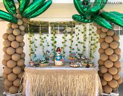 los angeles kids party planning moana birthday party party