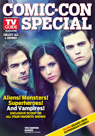 vampire diaries featured on new tv guide comic con cover vampire