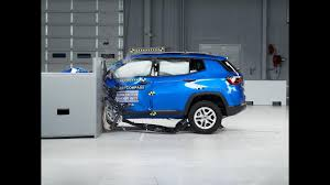 small jeep 2017 2017 jeep compass driver side small overlap iihs crash test youtube
