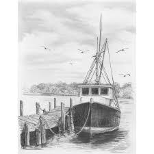 amazon com darice sketching made easy fishing boat dwo arts