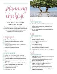 step by step wedding planning the 25 best destination wedding checklist ideas on
