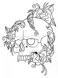 skull and rose tattoo ideas for men tattoomagz