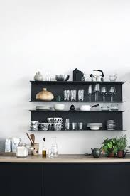 Kitchen Bookcase Ideas by Best 25 Black Shelves Ideas On Pinterest Black Floating Shelves